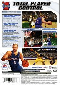 NBA Live 2003 - Box - Back