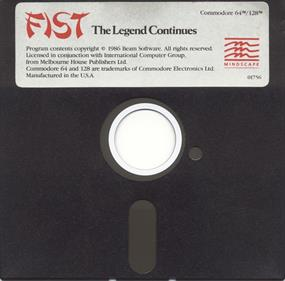 Fist: The Legend Continues - Disc
