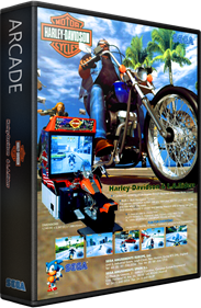 Harley-Davidson & L.A. Riders - Box - 3D