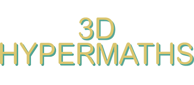 3D Hypermaths - Clear Logo