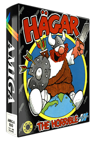 Hägar the Horrible - Box - 3D
