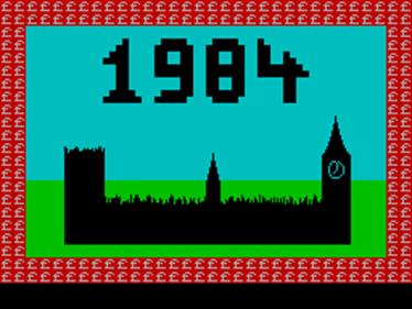 1984 - Screenshot - Game Title