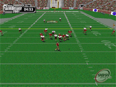 NCAA GameBreaker 2001 - Screenshot - Gameplay