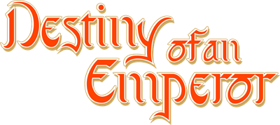 Destiny of an Emperor - Clear Logo