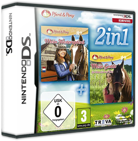 2 in 1: My Riding Stables + My Riding Stables: Life with Horses - Box - 3D