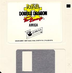 Double Dragon II: The Revenge - Disc