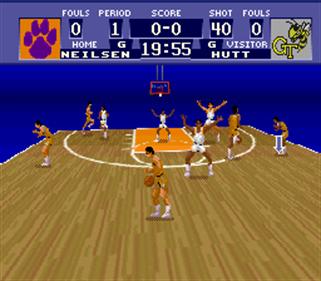 NCAA Basketball - Screenshot - Gameplay