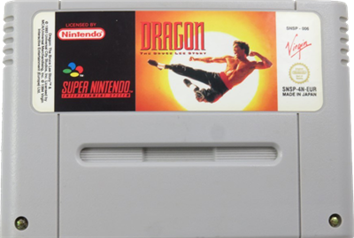 Dragon: The Bruce Lee Story - Cart - Front