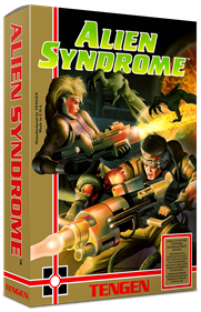 Alien Syndrome - Box - 3D