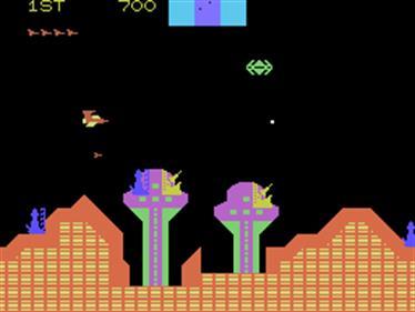 Cosmic Avenger - Screenshot - Gameplay