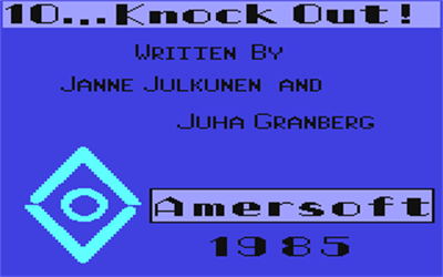 10... Knockout! - Screenshot - Game Title