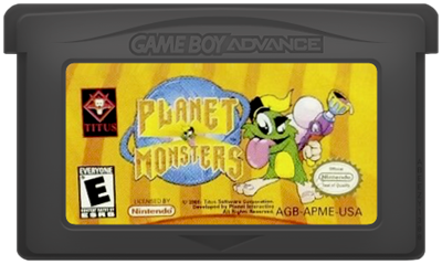 Planet Monsters - Cart - Front
