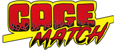 Intergalactic Cage Match - Clear Logo