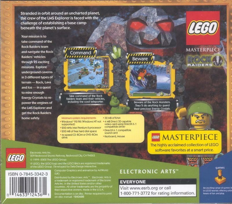 Lego Rock Raiders Details - LaunchBox Games Database
