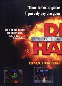 Die Hard Trilogy - Advertisement Flyer - Front