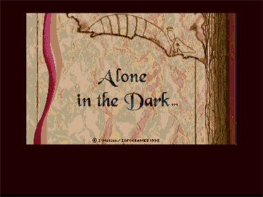 Alone in the Dark - Screenshot - Game Title