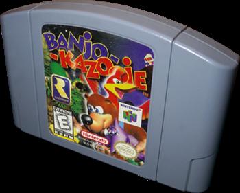 Banjo-Kazooie - Cart - 3D
