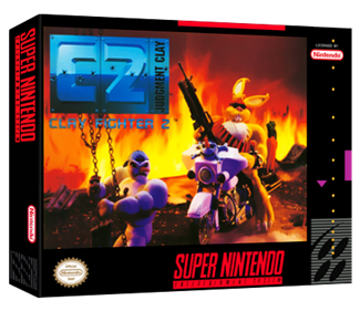 Clay Fighter 2: Judgment Clay - Box - 3D