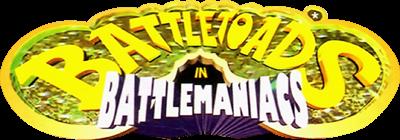 Battletoads in Battlemaniacs - Clear Logo