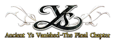 Ys II: Ancient Ys: Vanished The Final Chapter - Clear Logo