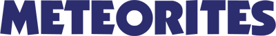 Meteorites - Clear Logo