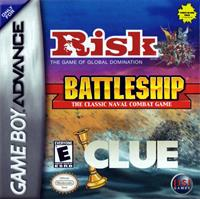 3 Game Pack!: Risk, Battleship, Clue