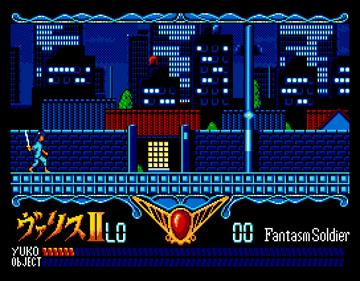 Valis: The Fantasm Soldier II - Screenshot - Gameplay