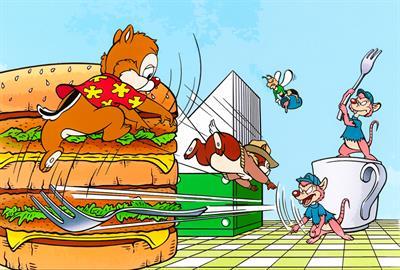Chip 'N Dale Rescue Rangers - Fanart - Background