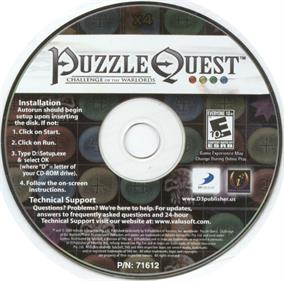 Puzzle Quest: Challenge of the Warlords - Disc