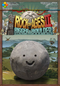 Rock of Ages II: Bigger & Boulder - Fanart - Box - Front