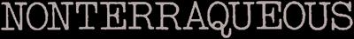 Nonterraqueous - Clear Logo