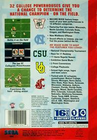 College Football's National Championship II - Box - Back
