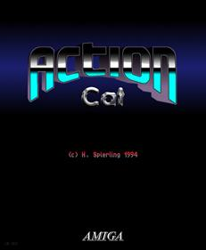 Action Cat - Fanart - Box - Front