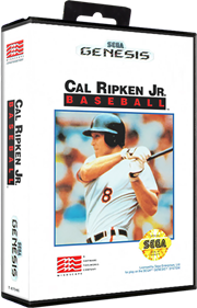 Cal Ripken Jr. Baseball - Box - 3D