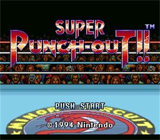 Super Punch-Out!! - Screenshot - Game Title