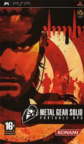 Metal Gear Solid: Portable Ops - Box - Front