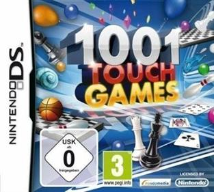 1001 Touch Games - Box - Front