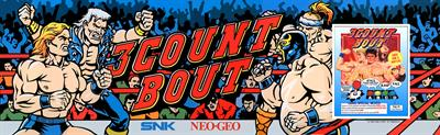 3 Count Bout - Arcade - Marquee