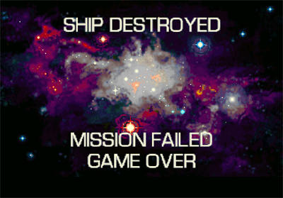 DarXide - Screenshot - Game Over