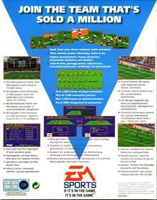 FIFA International Soccer - Box - Back