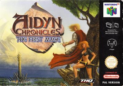 Aidyn Chronicles: The First Mage - Box - Front