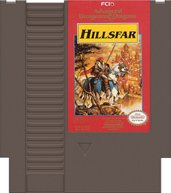 Advanced Dungeons & Dragons: Hillsfar - Cart - Front