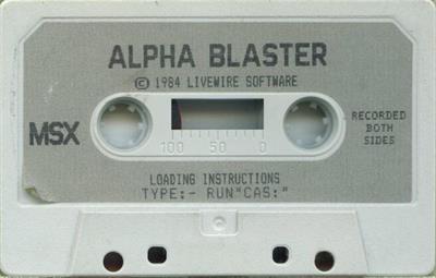 Alpha Blaster - Cart - Front