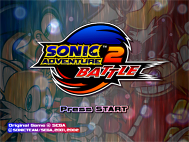 Sonic Adventure 2: Battle - Screenshot - Game Title