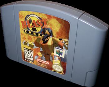 Blast Corps - Cart - 3D