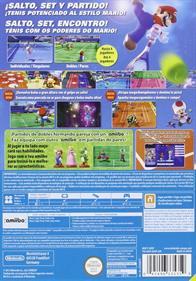 Mario Tennis: Ultra Smash - Box - Back