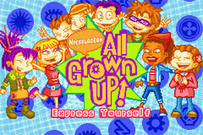 All Grown Up! Express Yourself - Screenshot - Game Title