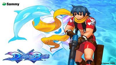 Dolphin Blue - Fanart - Background