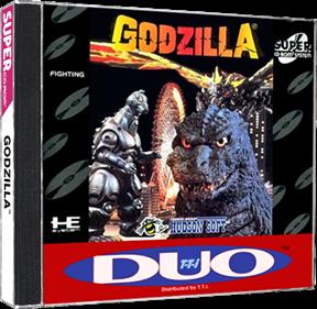 Godzilla Bakutou Retsuden - Box - 3D