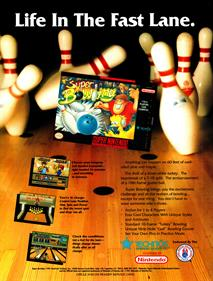 Super Bowling - Advertisement Flyer - Front